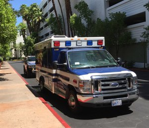 Research shows just how dangerous it is to work inside ambulances. (Photo/Greg Friese)