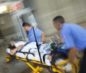 The injury risk to EMS personnel is high. (Courtesy photo)