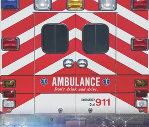 An EMS unit is called to a sick case.