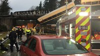 Amtrak train hurtles off overpass; at least 3 people killed