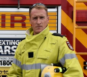 Western Australia Firefighter Andrew Strunk published a Facebook post Monday confronting several controversial subjects surrounding the nation's ongoing wildfire crisis. The post has been shared nearly 41,000 times. (Photo/Department of Fire and Emergency Services WA Facebook)
