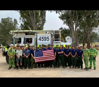 Video: Calif. forest service firefighters return from Australian deployment