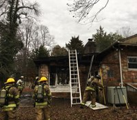 Firefighter injured in Md. house fire