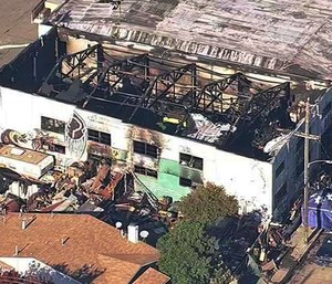 Fire investigators were not able to determine a cause of the inferno, but Assistant Fire Marshal Maria Sabatini said it was likely an electrical failure. (Photo/AP)