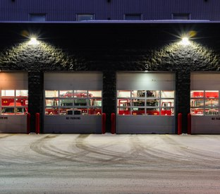 What's new in fire department apparatus bay design and technology
