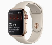Apple Watch's heart monitoring feature now live