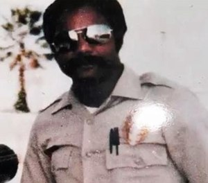 SDPD Officer Archie Buggs was fatally shot while conducting a traffic stop in 1978. (Photo/San Diego County District Attorney's Office)