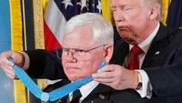 Trump awards Medal of Honor to Vietnam-era Army medic