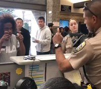Calif. officer uses ASL to assist woman at DMV