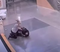 Video shows attack on LAPD officer inside police station