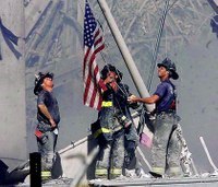 White FDNY lieutenant in iconic 9/11 photo files discrimination claim