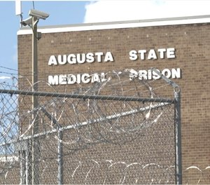 Augusta State Medical Prison has the most cases among all the prisons in the state with 195.
