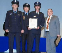 Md. firefighter honored for saving children from fire