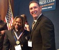 Va. paramedic receives 'Star of Life' award