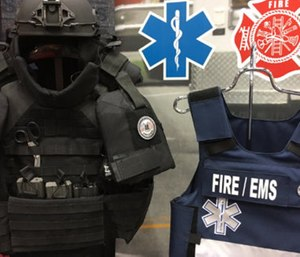 The Owensboro Fire Department is requesting a grant to purchase body armor for its responders. (Photo/Meera Pal)