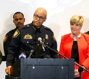 Pictured is Fort Worth Police Chief Joel Fitzgerald.