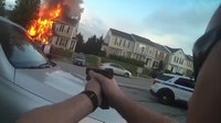 Video: Triple murder suspect killed in shootout at scene of explosion