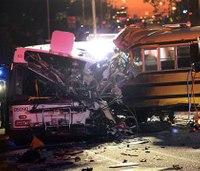 NTSB probes Baltimore bus crash that killed at least 6