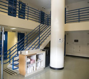 Railings on the second floor of the Spokane County Jail will be heightened to floor-to-ceiling bars to prevent inmate suicides. (Photo/TNS)