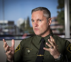 Orange County Sheriff Don Barnes will appeal a judge's ruling ordering his department to change its policy of shackling inmates at the waist inside county courthouses. (Photo/MCT)