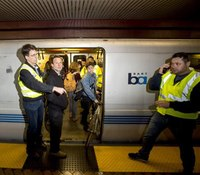 San Francisco protesters shut down transit stations