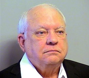 This Tuesday, April 14, 2015 file photo provided by the Tulsa County, Oklahoma, Sheriff's Office shows Robert Bates.