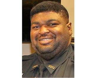 Officer Kejuane Bates died Wednesday from COVID-19 complications.