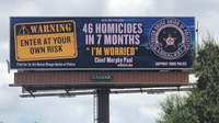 Attorney: La. police union official fired over billboards interview with journalist
