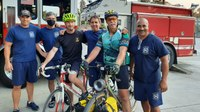 From the Bay to Brooklyn: Firefighters to cycle across US for 9/11 anniversary