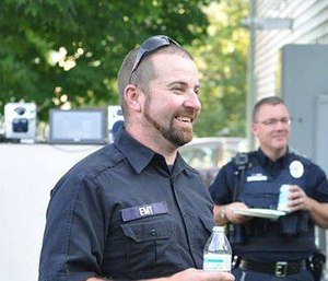 Richmond Rescue volunteer EMT Brendon Cousino was killed in July 2015 by a driver who was going the wrong way. (Photo/Richmond Rescue)