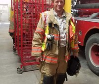 Texas firefighter who suffered heart attack recovering