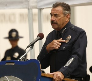 Former LAPD chief Charlie Beck may take over the vacancy left by current Chicago police superintendent Eddie Johnson when he retires at the end of the year. (Photo/TNS)
