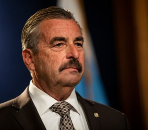 Former LAPD chief Charlie Beck will step in as interim police superintendent when Eddie Johnson retires at the end of the year.