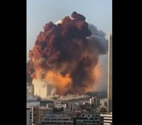 Video: Massive explosion in Beirut; at least 10 firefighters missing