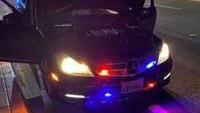 Mercedes-Benz driver arrested after flashing fake police lights at Calif. detective