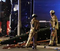 12 killed, 48 hurt after truck runs into Berlin Christmas market