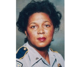 Baton Rouge police Cpl. Betty Smothers in 1993 (Baton Rough PD Image)