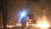 Man trapped under ATV sparks fire to signal for help