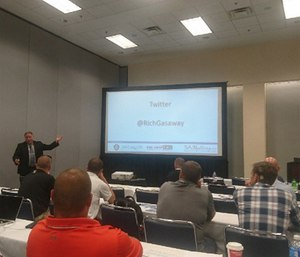Chief Richard B. Gasaway stressed the importance of mental engagement in his session on flawed situational awareness at FRI.