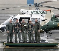 Calif. county police take control of air rescues from fire dept.