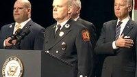 Biden honors fallen Del. firefighters