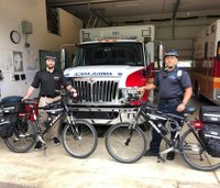 EMS agency decreases response time with bike crew