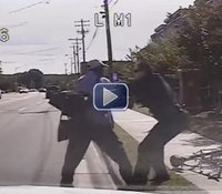 Video: NC police defend takedown of cyclist