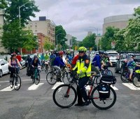 Mass. fire dept.'s new bike squad hits the streets for 4th of July