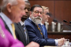 Mayor Bill Peduto announced a series of police reform proposals at a press conference Thursday.