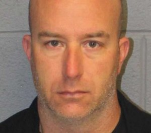Matthew Bittner, a volunteer firefighter, was charged with first-degree arson and other crimes for allegedly torching his SUV and reporting it as stolen. (Photo/Monroe Police Department)