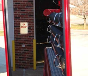 Make sure to use these safety strategies at all times when you are backing up a fire vehicle of any size.