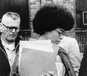 In this April 25, 1977, file photo, Joanne Chesimard, member of the Black Panther Party and Black Liberation Army was granted asylum in Cuba after her 1979 escape from the New Jersey prison.