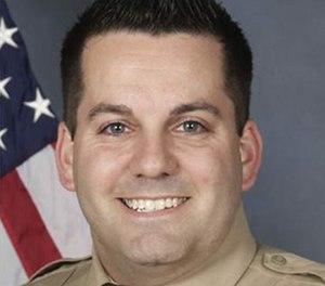 Pictured is Officer Blake Snyder.