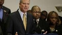 Union leaders angered over mayor's remarks on Garner death
